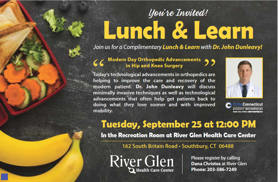 River Glen Lunch Learn 092518